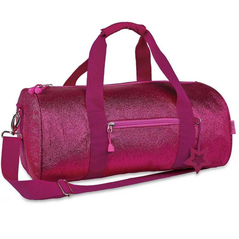 303023: Bixbee Sparkalicious Ruby Raspberry Duffle - Large