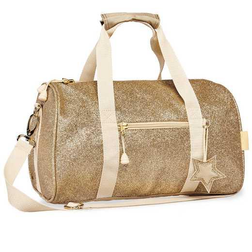 303030: Bixbee Sparkalicious Gold Duffle - Medium
