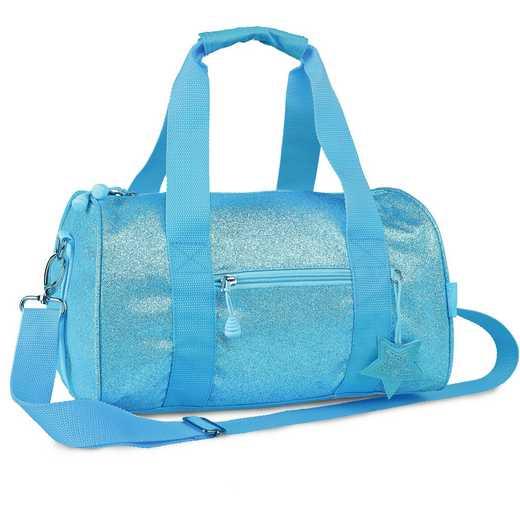 303032: Bixbee Sparkalicious Turquoise Duffle - Medium