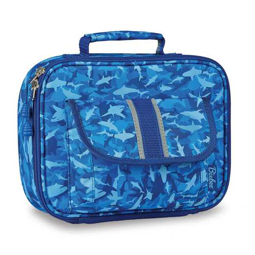 307003: Bixbee Shark Camo Lunchbox