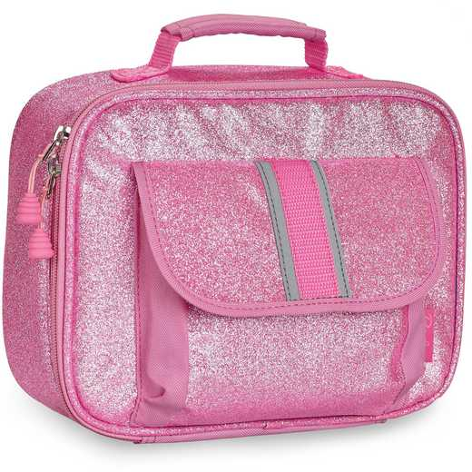 304005: Bixbee Sparkalicious Pink Lunchbox