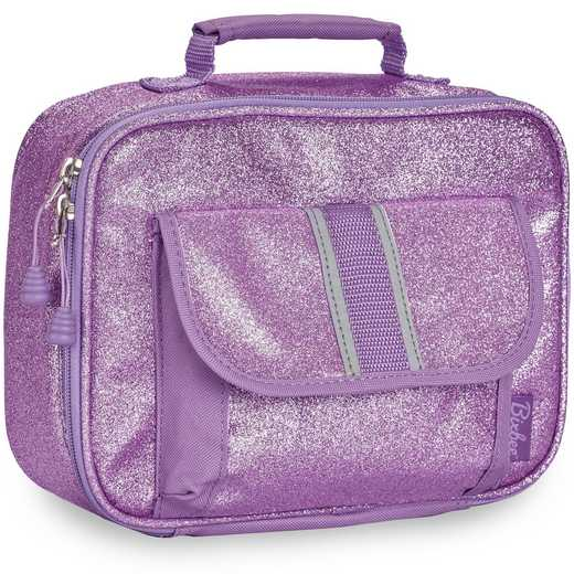 304006: Bixbee Sparkalicious Purple Lunchbox