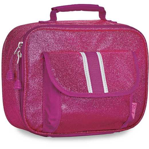 304008: Bixbee Sparkalicious Ruby Raspberry Lunchbox