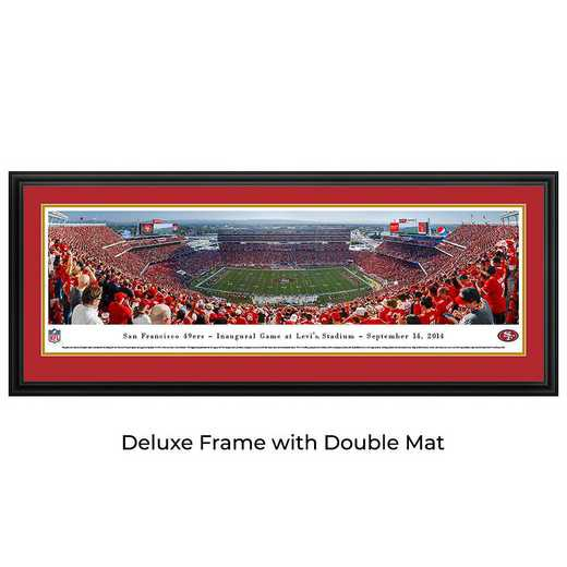 San Francisco 49Ers - Inaugural Game at Levi's Stadium - Panoramic Print