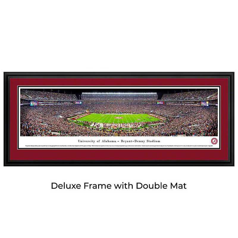Alabama Crimson Tide Football - Panoramic Print
