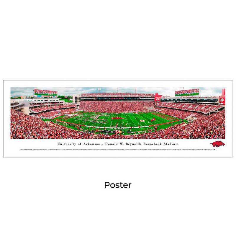 UAR8: Arkansas Razorback Football #8, Unframed Poster
