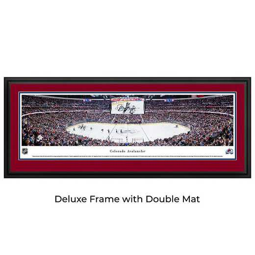Colorado Avalanche Hockey - Center Ice - Panoramic Poster