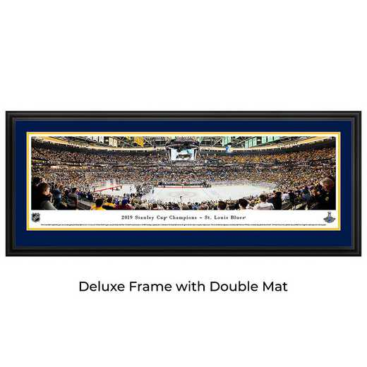 NHLSC19D: 2019 Stanley Cup Champions - St. Louis Blues, Deluxe Frame