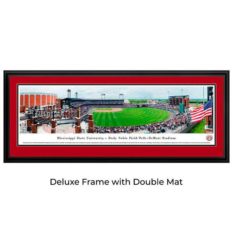 MSSU7D: Mississippi State Bulldogs Baseball, Deluxe Frame