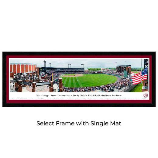 MSSU7M: Mississippi State Bulldogs Baseball, Select Frame