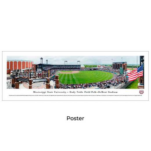 MSSU7: Mississippi State Bulldogs Baseball, Unframed