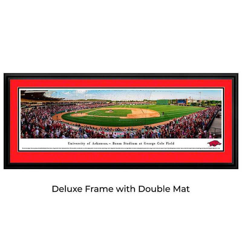 UAR7D: Arkansas Razorback Baseball, Deluxe Frame