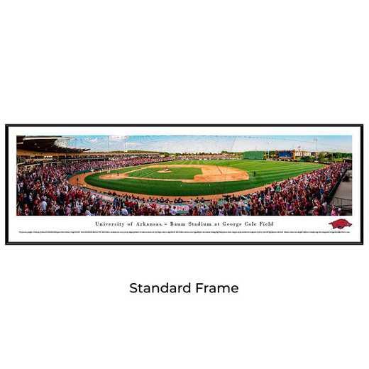 UAR7F: Arkansas Razorback Baseball, Standard Frame