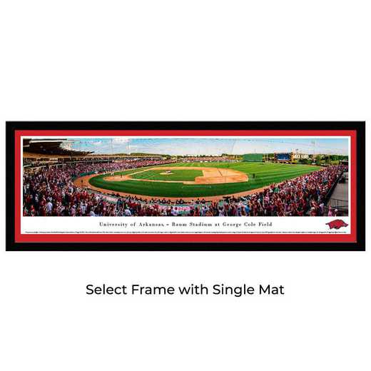 UAR7M: Arkansas Razorback Baseball, Select Frame