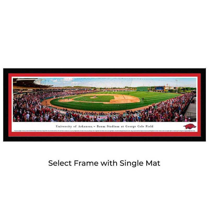 UAR7M: Arkansas Razorback Baseball, Select Frame