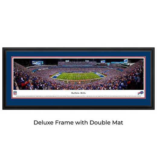 Buffalo Bills Night Game - Panoramic Print