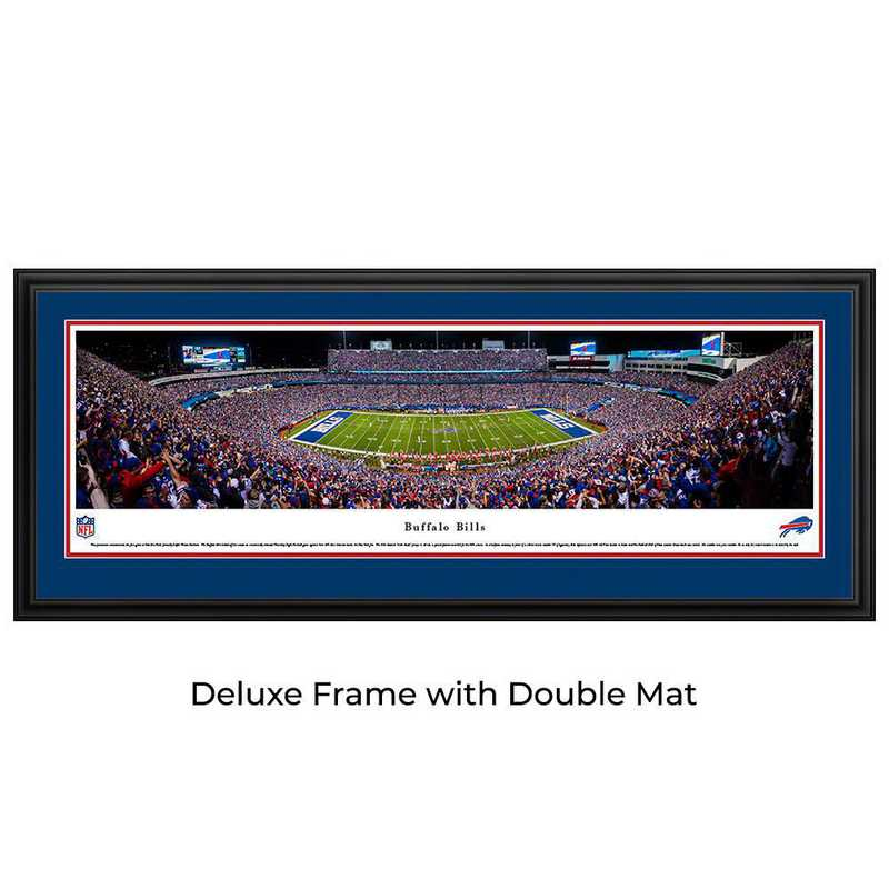 Buffalo Bills Night Game - Panoramic Print