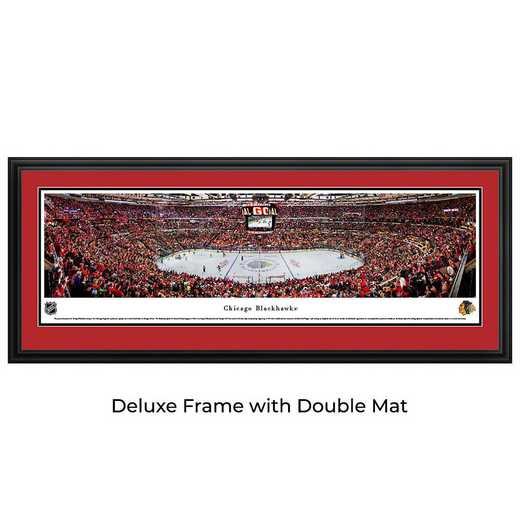 Chicago Blackhawks - Center Ice at United Center - Panoramic Poster