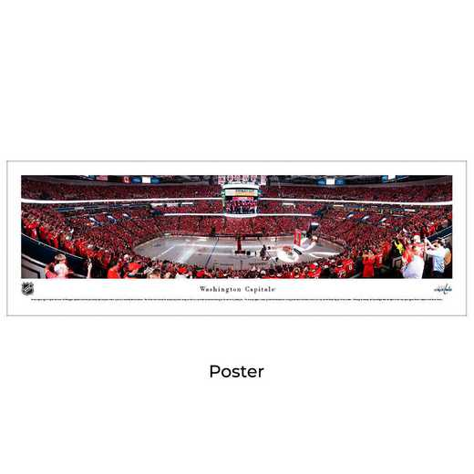 NHLCAP4: Washington Capitals Hockey #4 - Unframed Poster