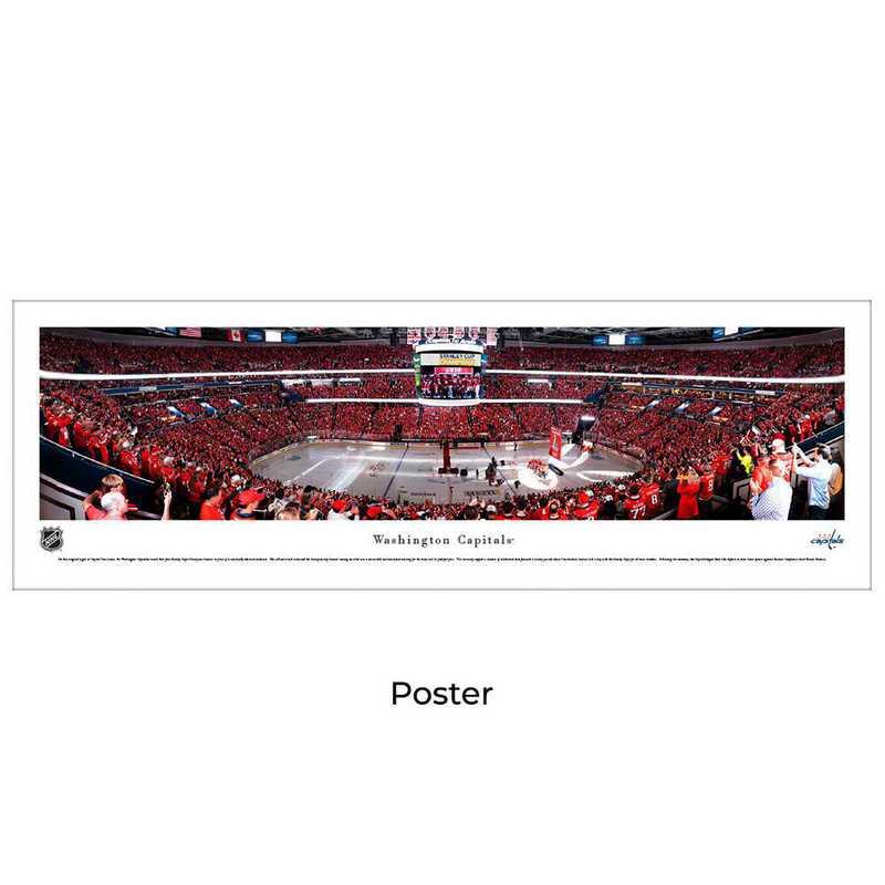 NHLCAP4: Washington Capitals Hockey #4 - Unframed Poster