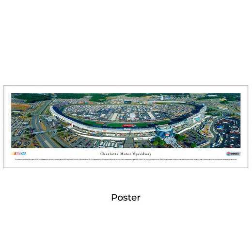 CMS3: Charlotte Motor Speedway, Unframed Poster