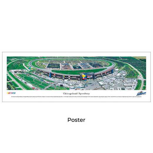 CLS1: Chicagoland Speedway, Unframed Poster