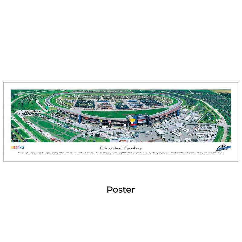 CLS1: Chicagoland Speedway, Unframed Poster