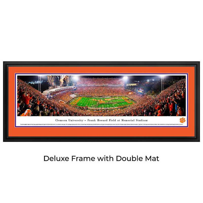 CLEM5D: Clemson Tigers Football #5 (50 Yd) - Deluxe