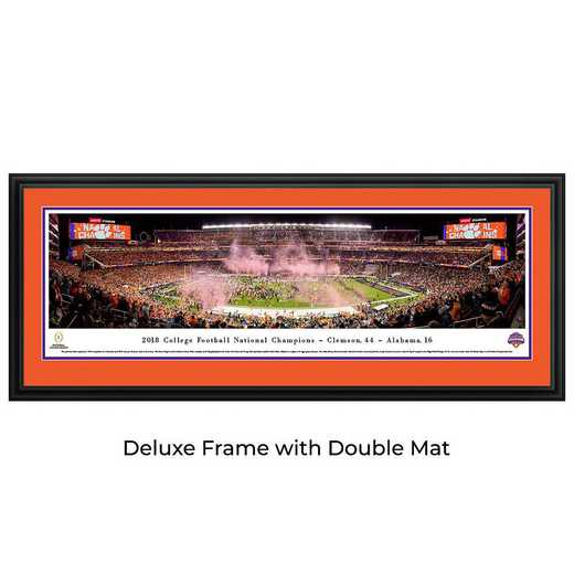 CFPC19D: 2018 College Football Champions - Clemson Tigers - Deluxe