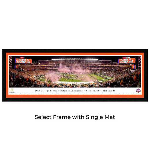 CFPC19M: 2018 College Football Champions - Clemson Tigers - Select