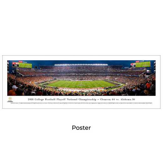 CFPK19: 2018 College Football Championship, Unframed Poster