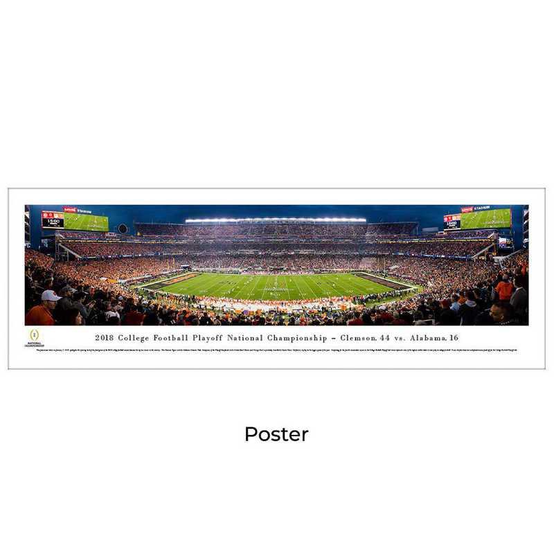 CFPK19: 2018 College Football Championship, Unframed Poster