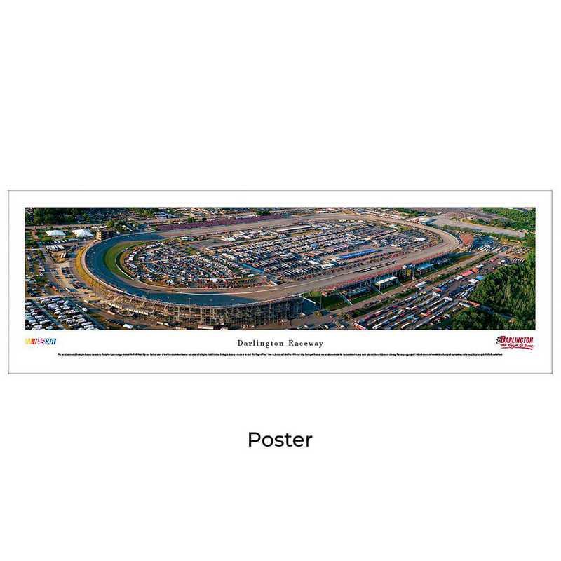 DR1: Darlington Raceway, Unframed Poster