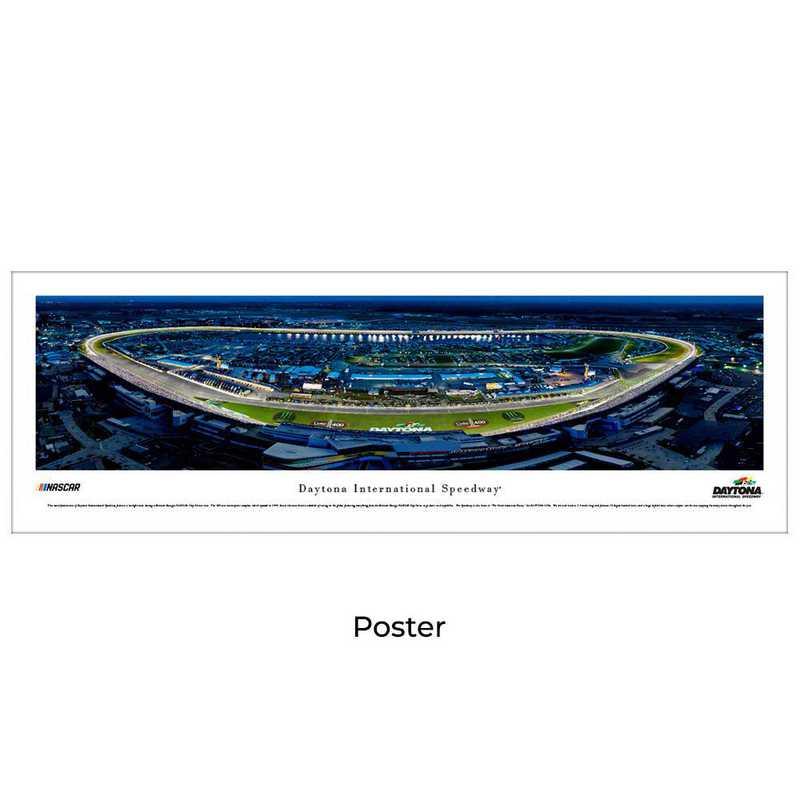 DIS6: Daytona International Speedway - Night Race, Unframed Poster