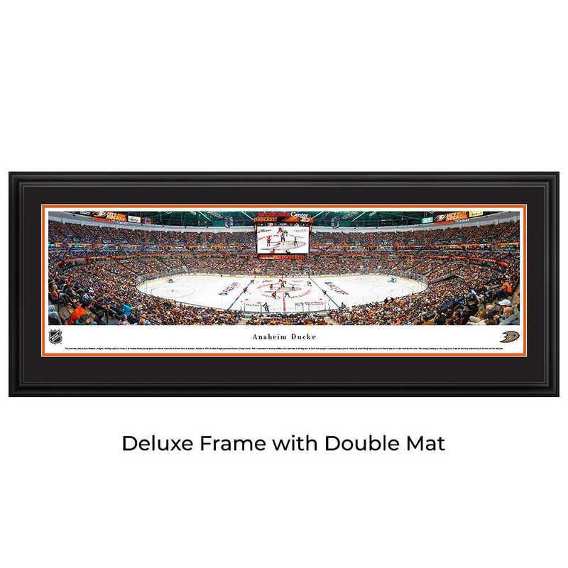 Anaheim Ducks - Center Ice - Panoramic Poster