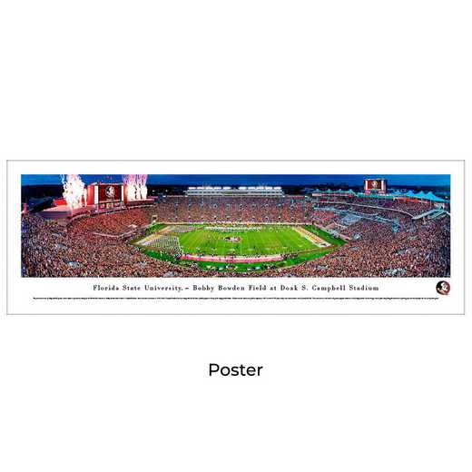 FSU5: Florida State Seminoles Football #5, Unframed Poster