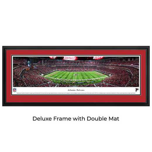 Atlanta Falcons - 1st Game at Mercedes-Benz Stadium - Panoramic Print