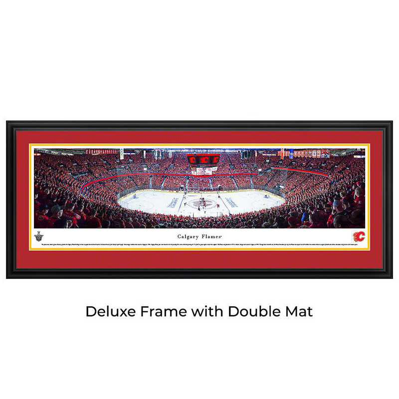Calgary Flames - Center Ice - Panoramic Poster