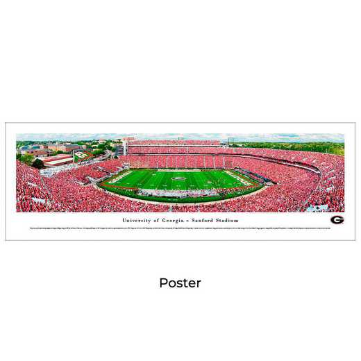 UGA5: Georgia Bulldogs Football #5, Unframed Poster