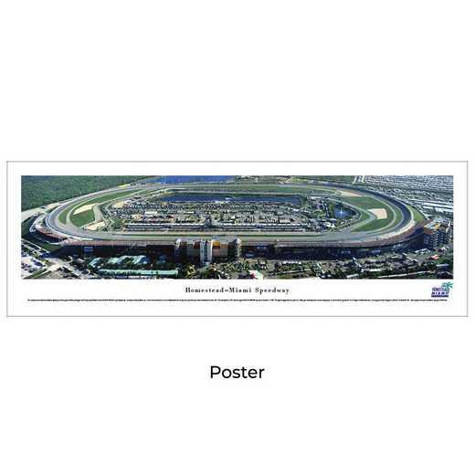 HMS1: Homestead-Miami Speedway, Unframed Poster