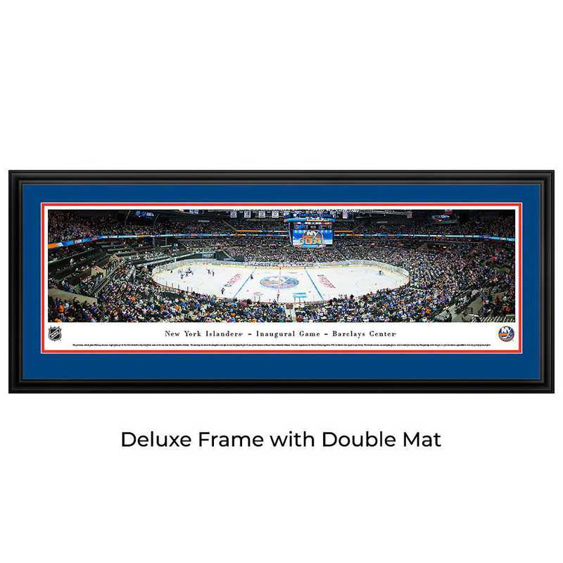 New York Islanders - 1st at Barclays - Panoramic Poster