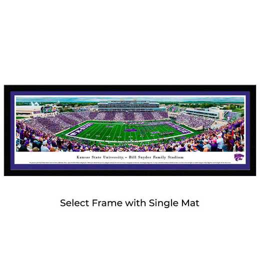 KSU6M: Kansas State Wildcats Football #6 - Stadium Stripe - Select