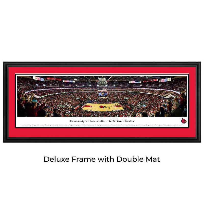 Louisville Cardinals Basketball - Panoramic Print