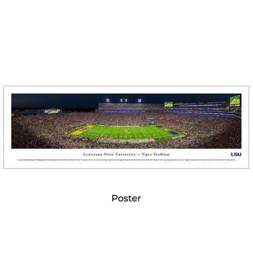 LSU4: LSU Tigers Football #5, Unframed Poster