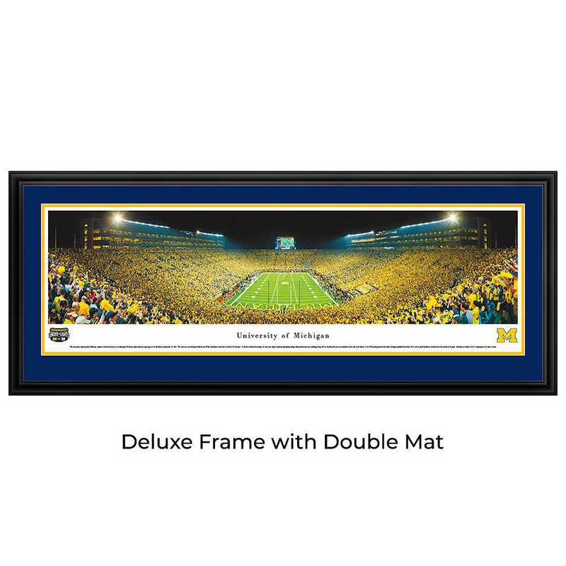 Michigan Wolverines Football - Under The Lights - Panoramic Print