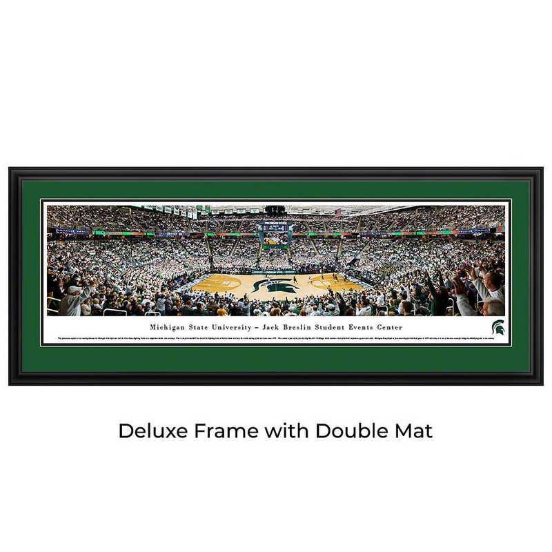 Michigan State Spartans Basketball - Panoramic Print