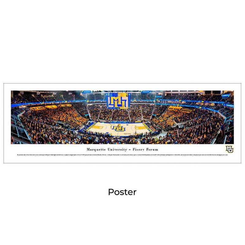 MQU2: Marquette Basketball #2 - Fiserv Forum - Unframed Poster