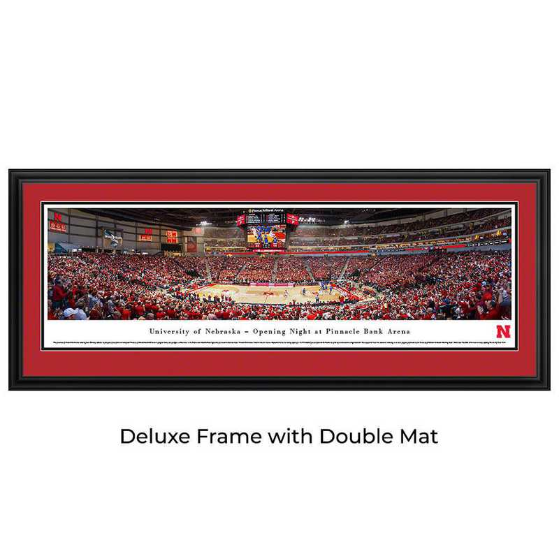 Nebraska Cornhuskers Basketball - Panoramic Print