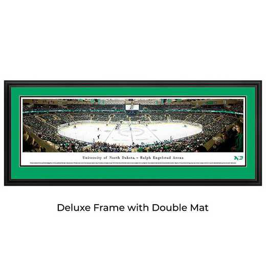 North Dakota Fighting Hawks Hockey - Panoramic Print