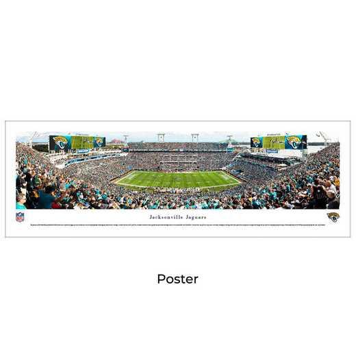 NFLJAG4: Jacksonville Jaguars #4 , Unframed Poster